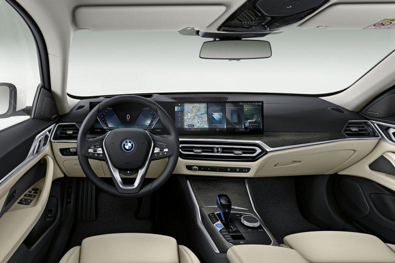 2022 BMW i4 interior
