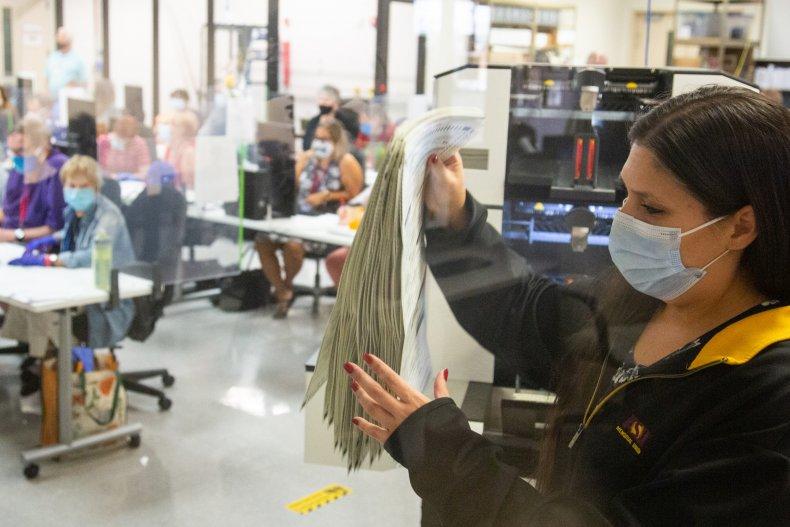 Maricopa County Arizona ballot audit right-wing disinformation