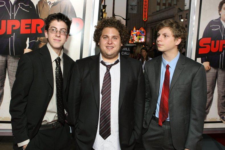 Christopher Mintz-plasse, Jonah Hill and Michael Cera