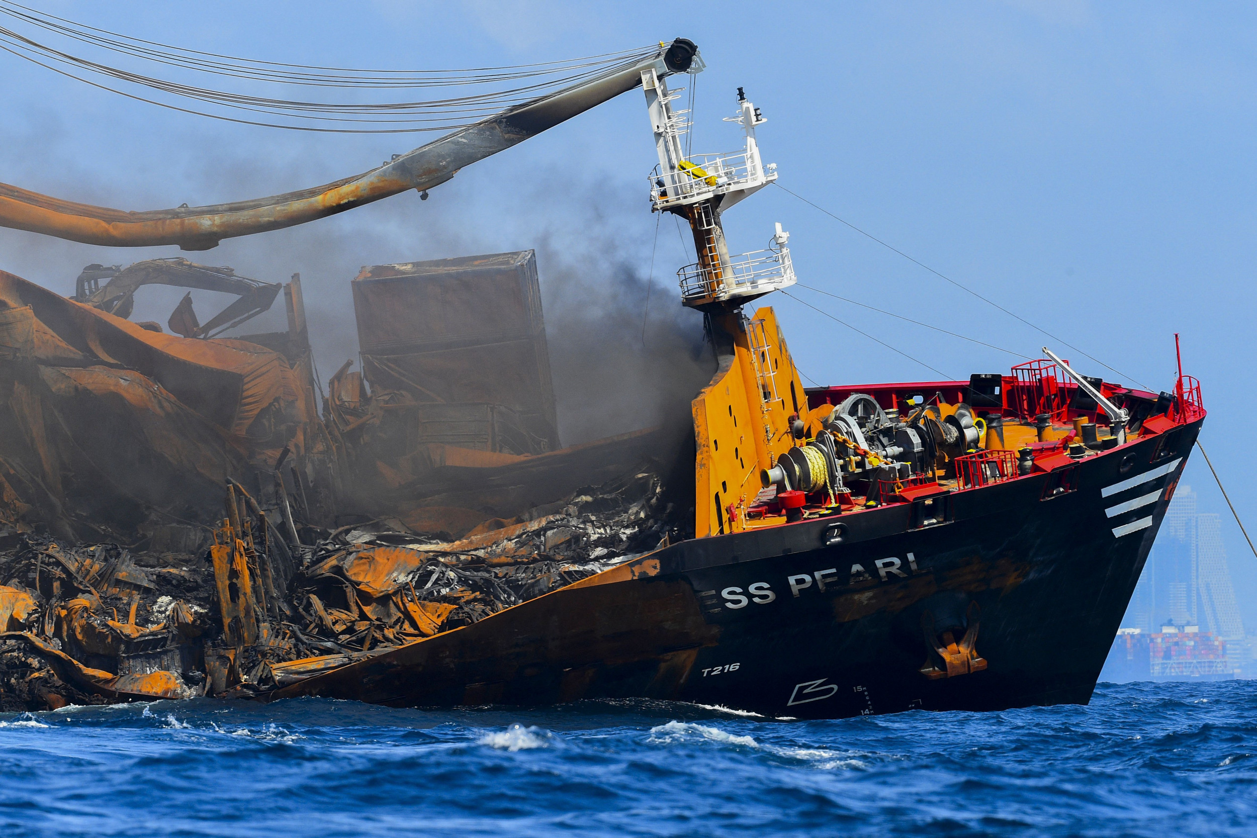 Sri Lanka Prosecutors Probing Deleted Emails From Captain of Ship That Sank With 25 Tons of Acid