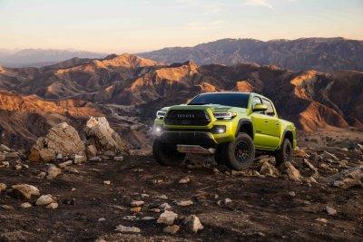 2022 Toyota Tacoma TRD Pro off-road