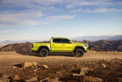 2022 Toyota Tacoma TRD Pro profile side