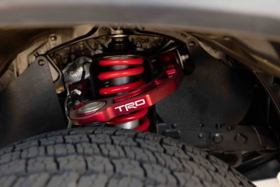2022 Toyota Tacoma TRD Pro springs lift