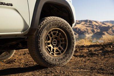 2022 Toyota Tacoma Trail Edition wheels tires