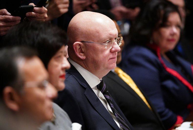 Ambassador Vassily Nebenzia 2019 U.N. Luncheon