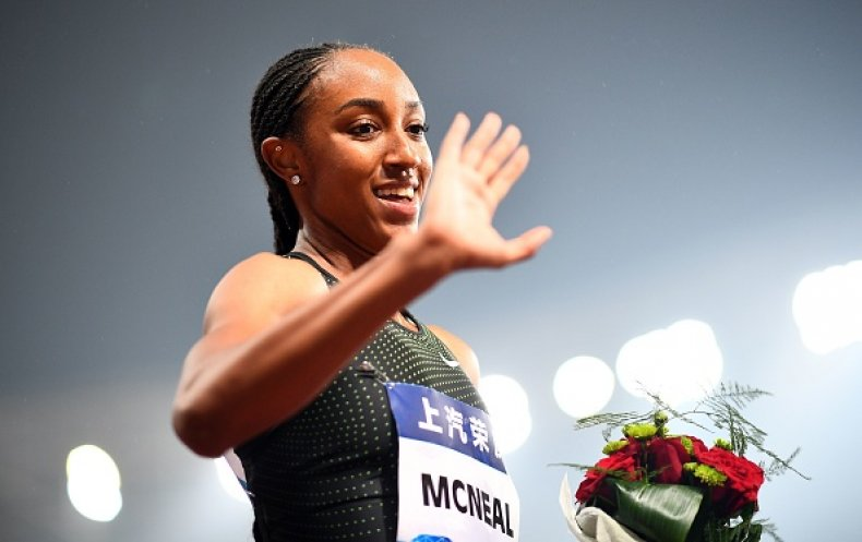 Brianna McNeal Olympic Champion Ban Doping Tokyo