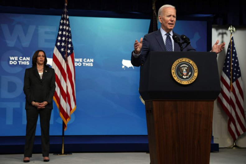 U.S. President Joe Biden and VP Harris