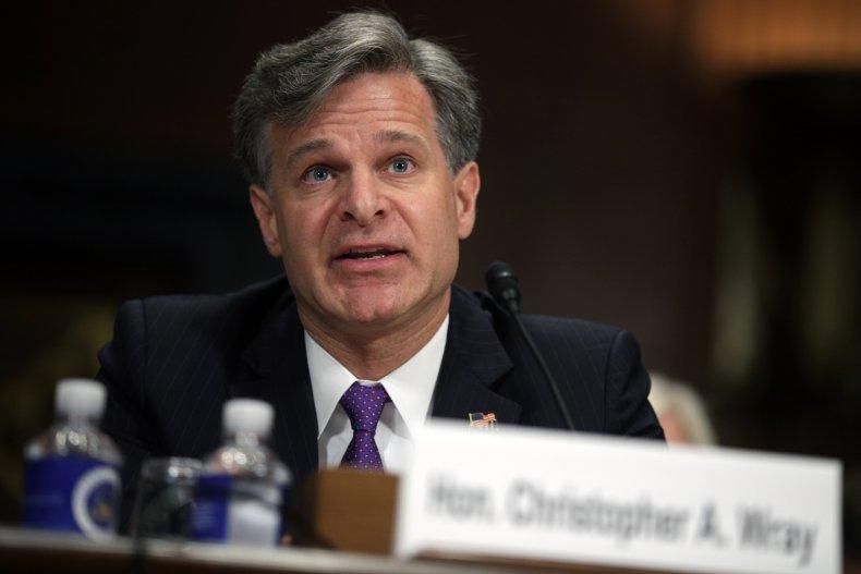 Senate Holds Confirmation Hearing For FBI Director