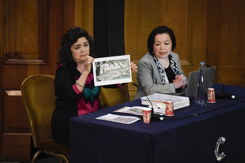 Britain Uyghur Tribunal June 2021