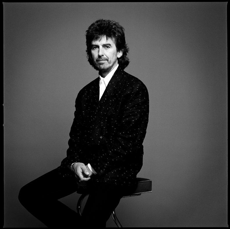 George Harrison photographed by Chris Cuffaro
