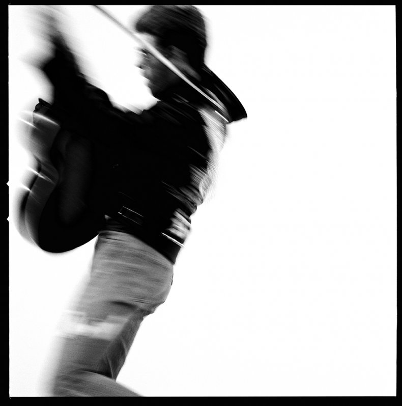 George Michael photographed by Chris Cuffaro
