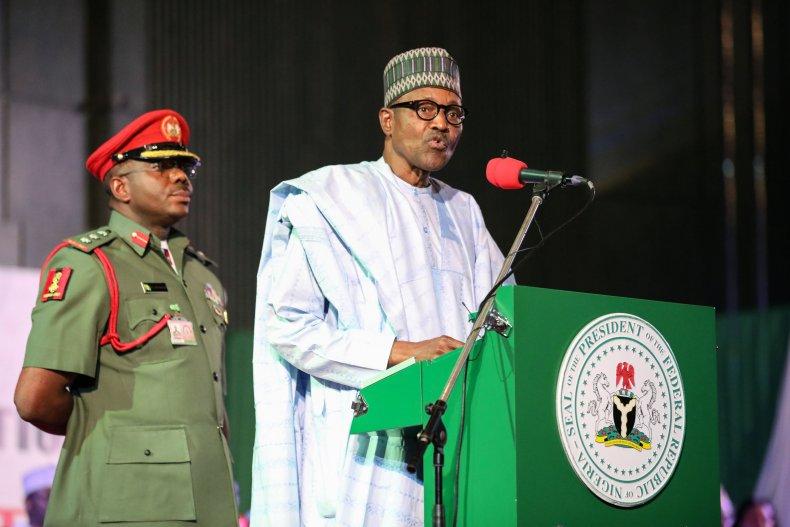 Nigerian President Muhammadu Buhari Speaks in 2019