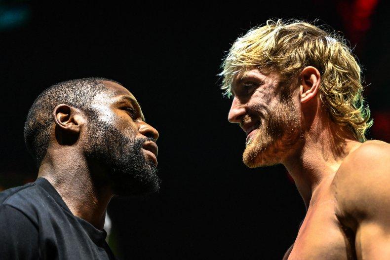 Floyd Mayweather fights Logan Paul in Miami