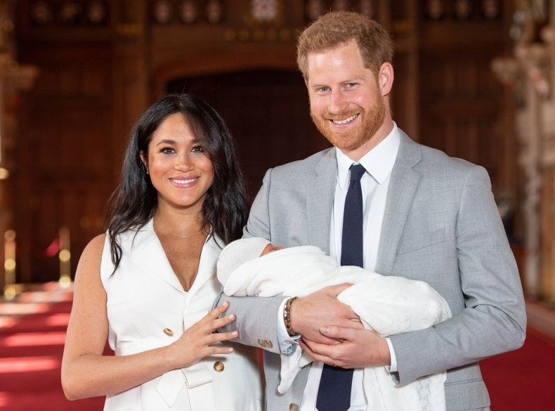 Meghan Markle, Prince Harry and Archie Mountbatten-Windsor