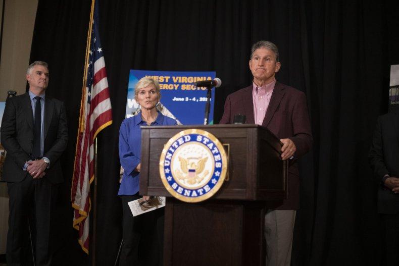 Joe Manchin press conference