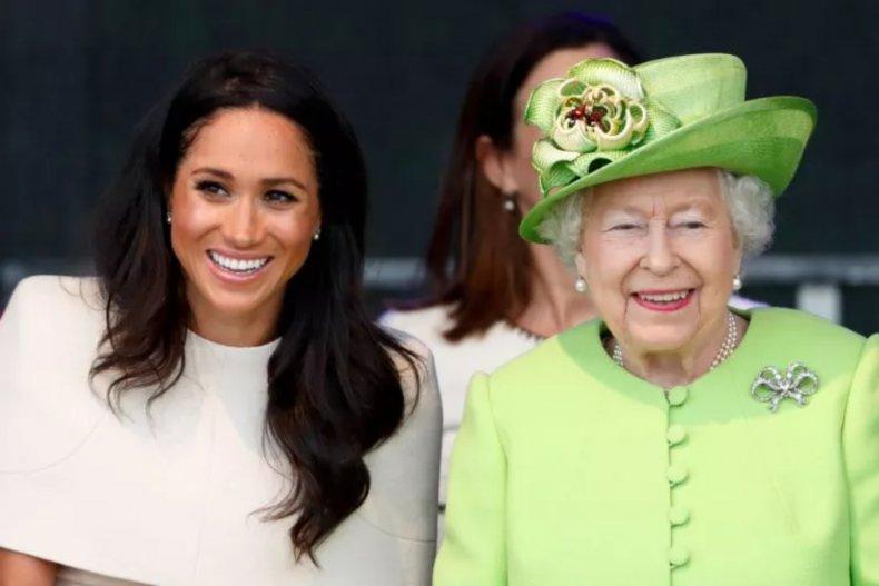Meghan Markle and Queen Elizabeth II, Widnes
