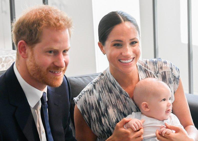 Prince Harry, Meghan Markle, Archie Meet Archbishop