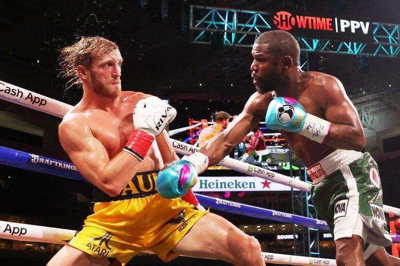 Logan Paul vs. Floyd Mayweather