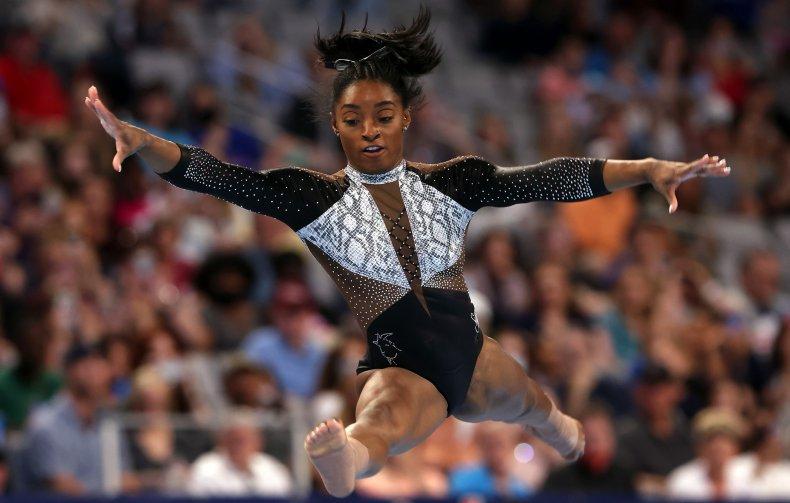Simone Biles won her seventh US title