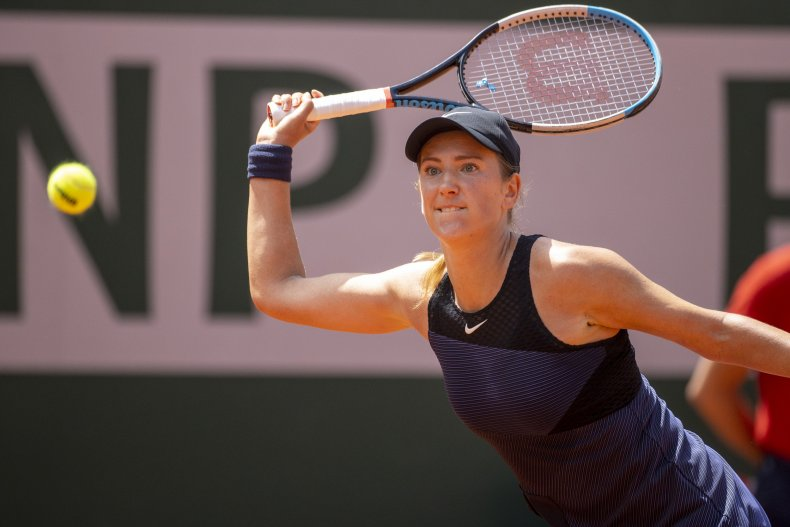 Victoria Azarenka at the French Open