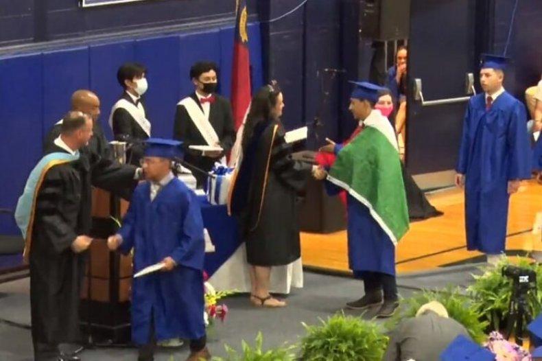 Ever Lopez graduation pic
