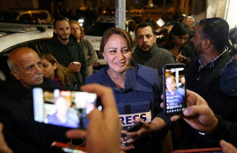 Givara Budeiri, Al Jazeera Journalist