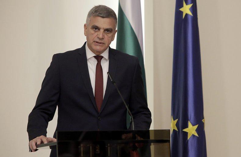 Bulgarian Interim PM Stefan Yanev