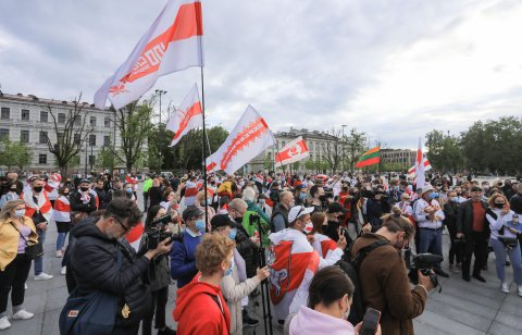 Protestors Belarus
