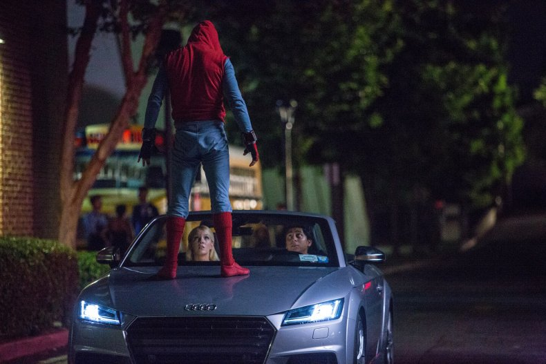 Spider-Man: Homecoming Audi A8 2018