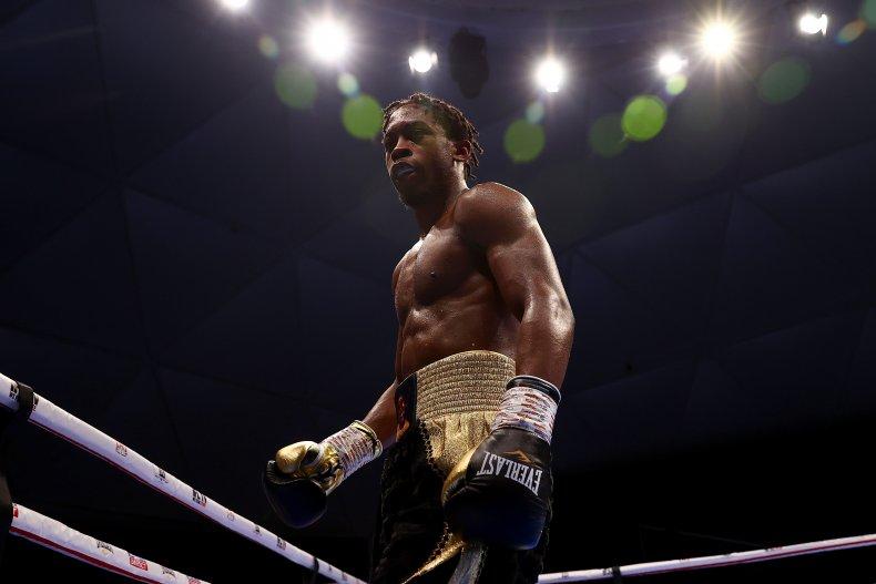 U.S. Boxer Keyshawn Davis