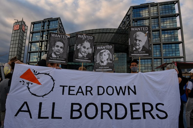 Migrant rights protest