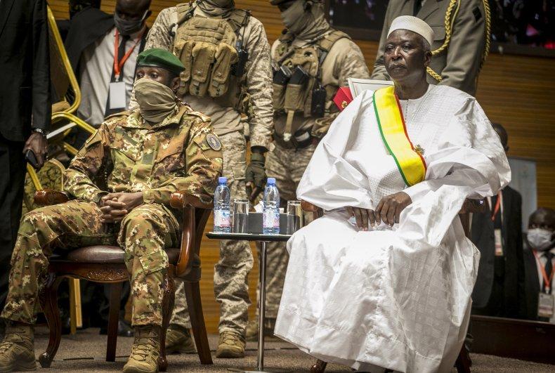 Col. Assimi Goita in Mali