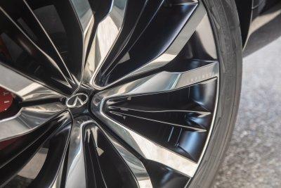 2022 INFINITI QX60 Monograph wheels