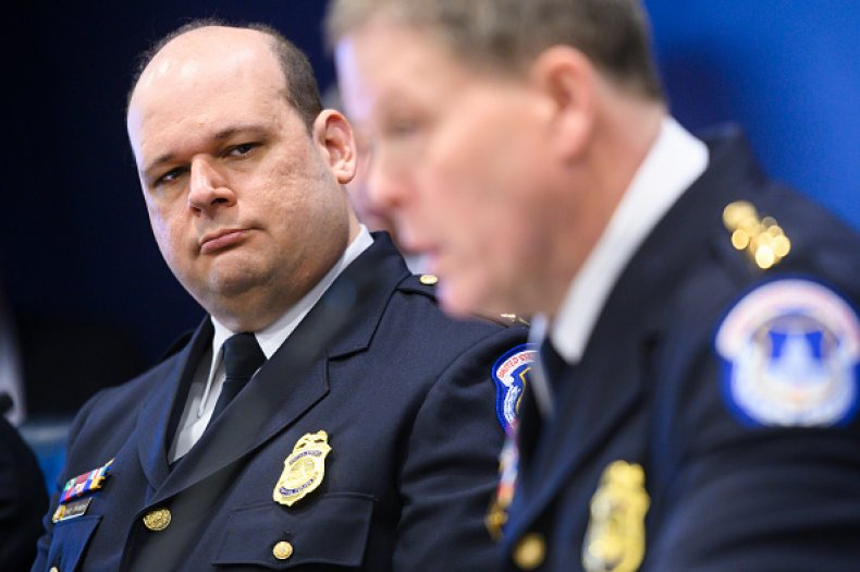 Chad Thomas Top Capitol Police Officer Resignation