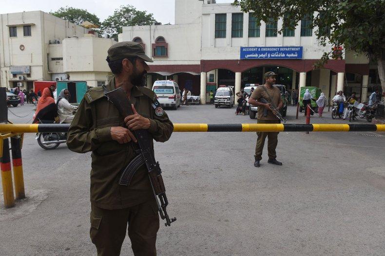 Lahore area hospital