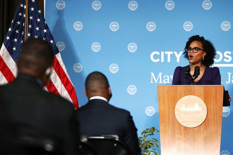 Boston Mayor Kim Janey