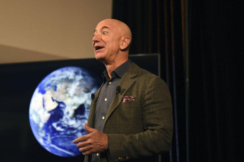Jeff Bezos Amazon space travel jokes memes