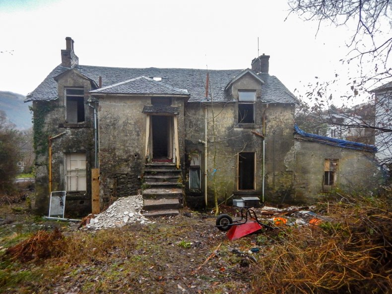 Claire and Cal's property in Scotland