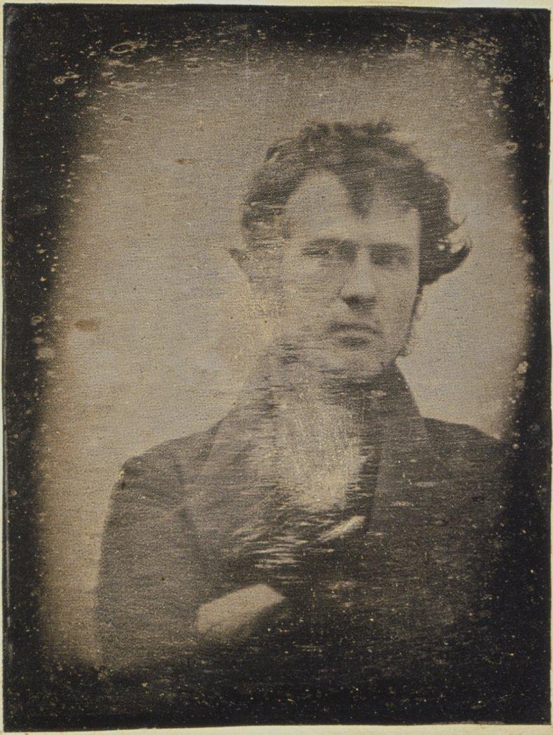 An early self-portrait by Robert Cornelius