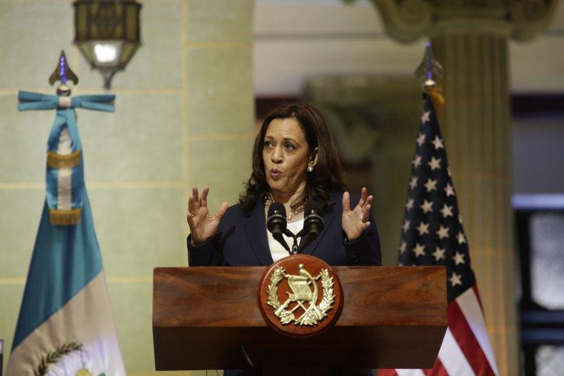 Kamala Harris Speaks in Guatemala City