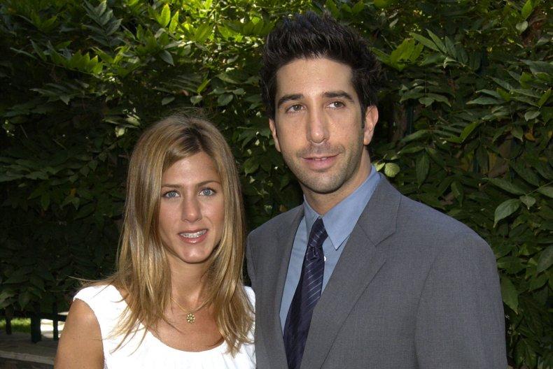 """Friends"" stars Jennifer Aniston and David Schwimmer"