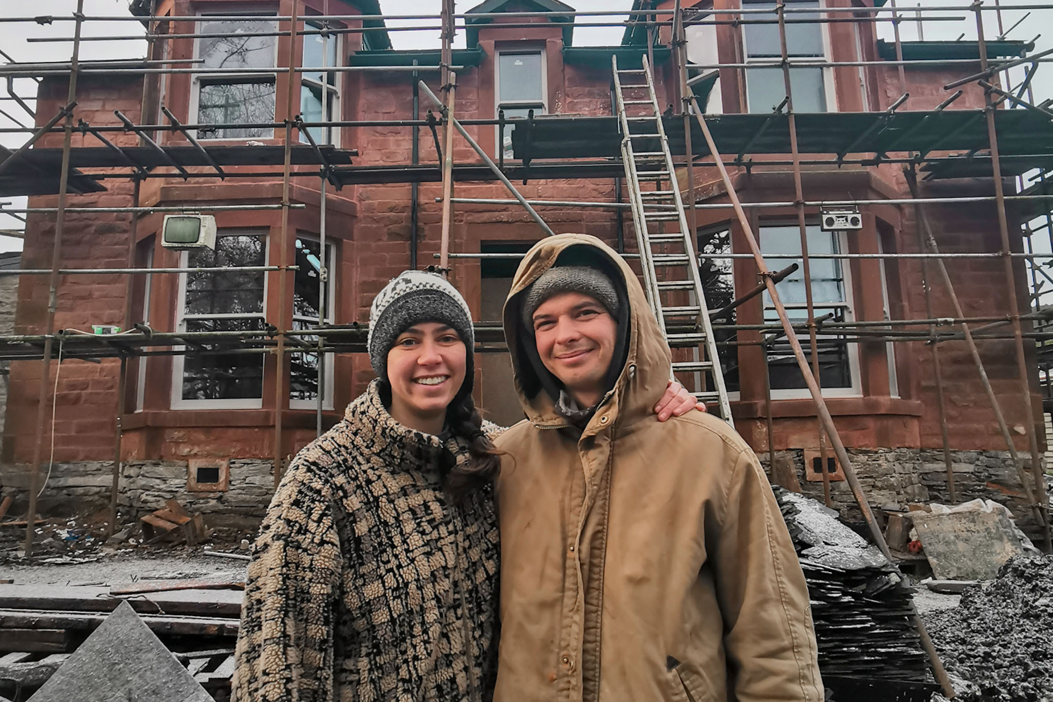 'We Accidentally Bought A 120 Year Old Derelict House' - Newsweek