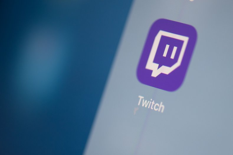 Twitch App Icon on Tablet