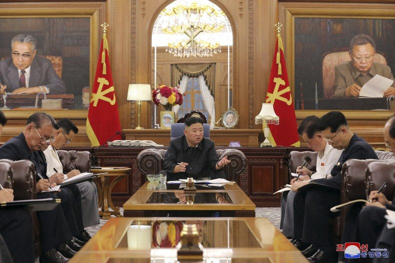 Kim Jong Un meeting