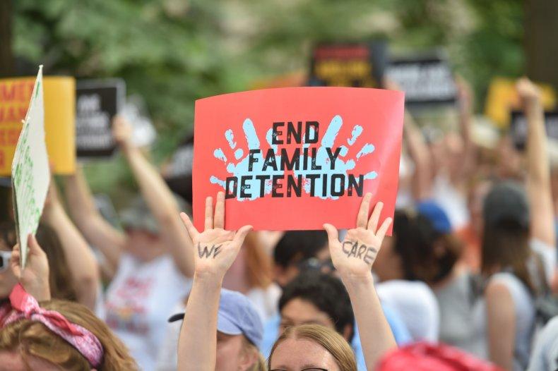 US Immigration Protest June 2018 DC