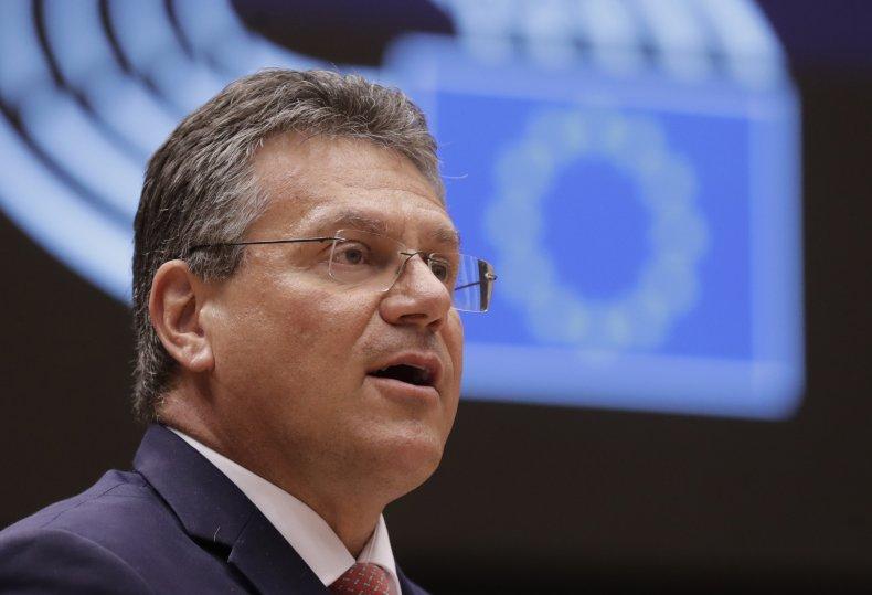 European Union Brexit Negotiator Maros Sefcovic