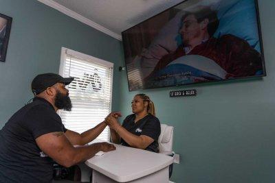 Shana Soberanis men-only nail salon