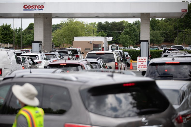 Colonial, Pipeline, shutdown, causes, fuel, shortage, fears