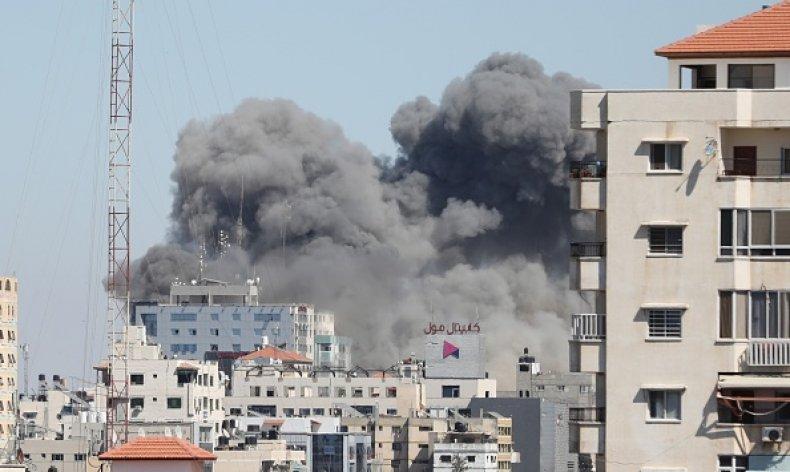 Israel AP Bombing Gaza Strip Building