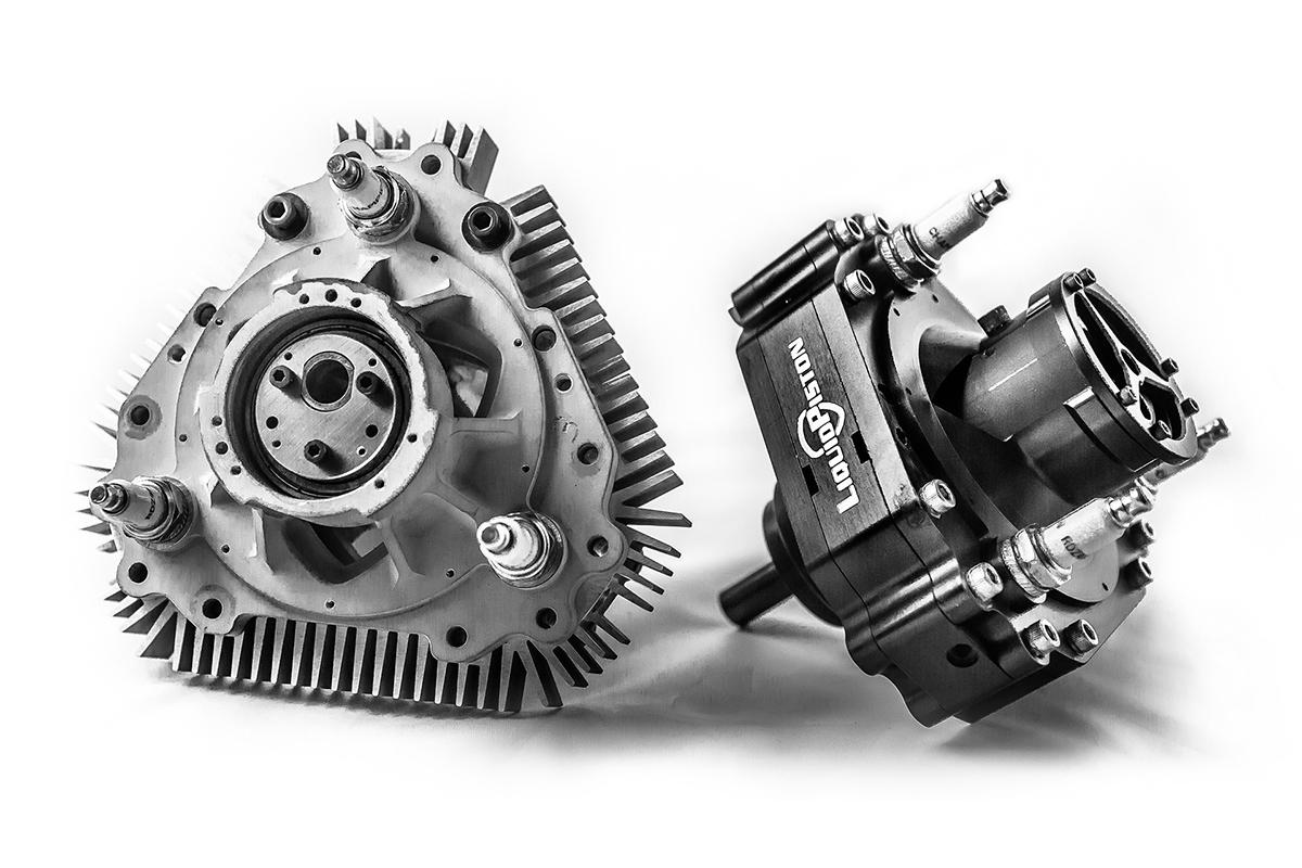 LiquidPiston's engine